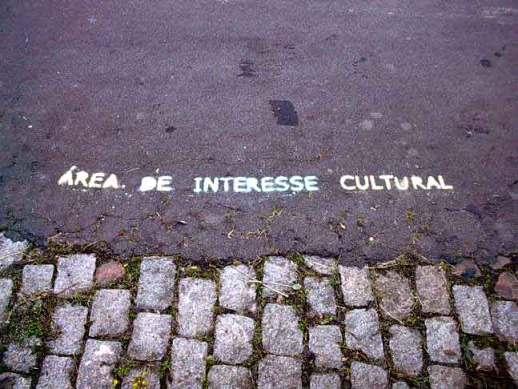 """Demarcação """"Área de Interesse Cultural"""""""