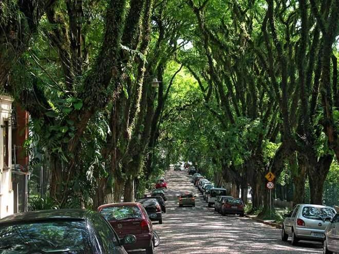 Rua Gonçalo de Carvalho, Patrimônio Cultural, Histórico e Ambiental de Porto Alegre.