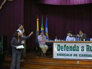 SOS Gonçalo, reunião no Colégio Bom Conselho.