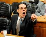 O descontrolado vereador Haroldo de Souza - Foto: Elson Sempé Pedroso/CMPA