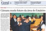 Capa do jornal ZH mostra a inusitada comemoração