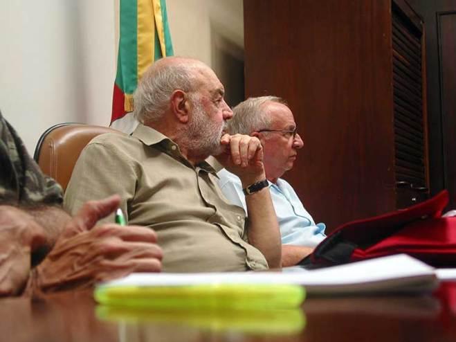 Arquiteto Nestor Nadruz e o advogado Marçal Davi