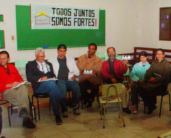 Reunião na AMOVITA - Foto: Eduíno de Mattos