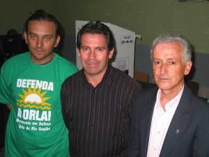 Roberto, Miguel e Eduíno
