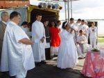 A celebração inter-religiosa.
