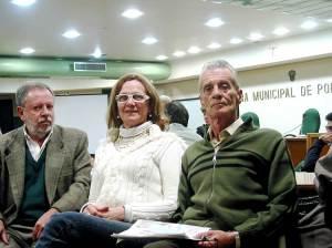 Ronaldo, Anadir e Arno em reunião do Fórum de Entidades para a Revisão do Plano Diretor
