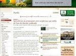 """O link na página do canal Rural, para a versão """"deles"""" da Audiência Pública."""