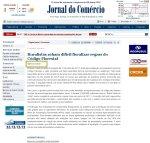 JC - notícia da Agência Estado que desconhece o lado ambientalista.