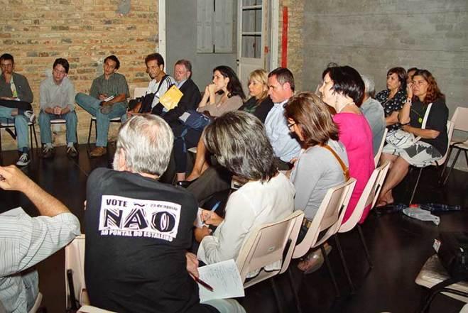 Reunião Planejamento Urbanístico da Orla - Foto de Eduíno de Mattos