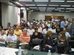 Ruralistas e ambientalista lotaram o salão da Audiência.