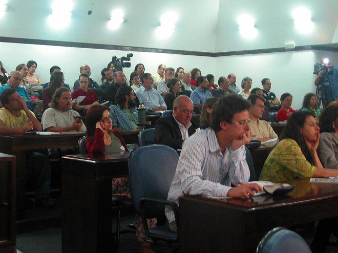 Foi sugerido a criação de um grupo permanente de discussão sobre o tema, com a coordenação da AGAPAN - Foto: Cesar Cardia/Aigos da Rua Gonçalo de Carvalho