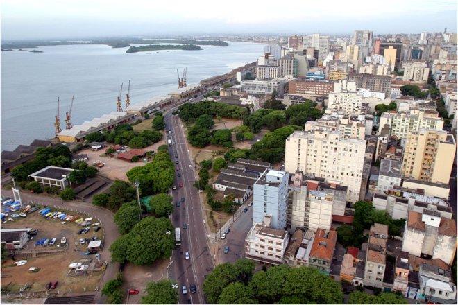Av. João Goulart atualmente - imagem do projeto da RP1/arquiteto Rogério Dal Molin