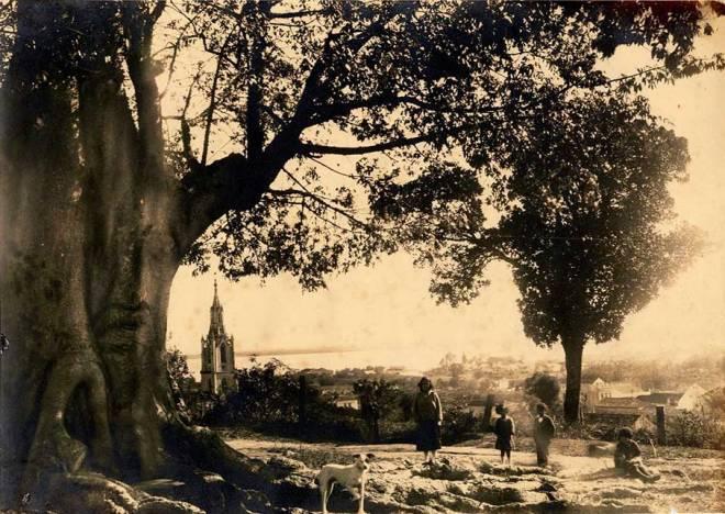 Arraial do Menino Deus - 1910 - Foto de Virgilio Calegari