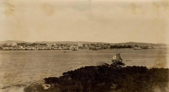Porto Alegre e o Guaíba - 1905