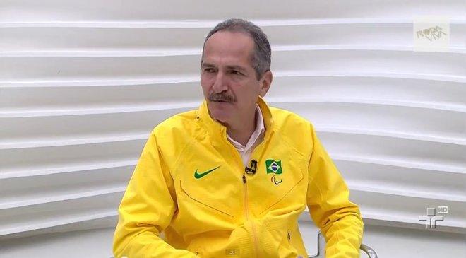 """""""Camarada"""" Aldo no Roda Viva (captura de tela)"""