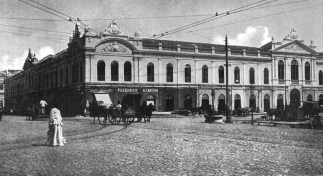Mercado Público em 1913