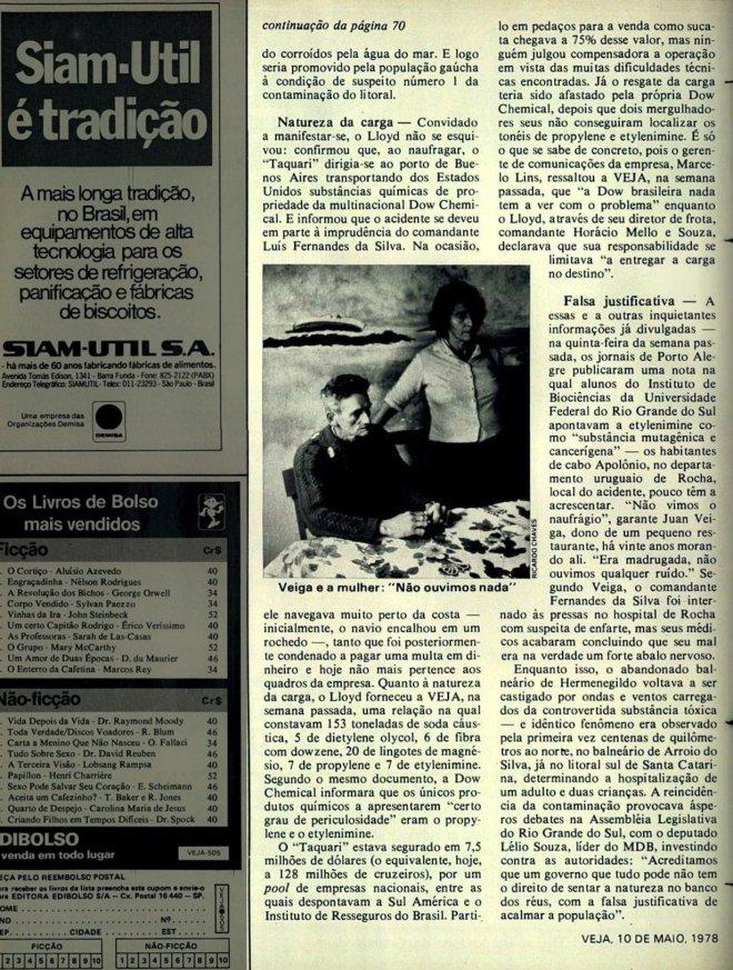Revista Veja - 10 de maio de 1978 - parte 2