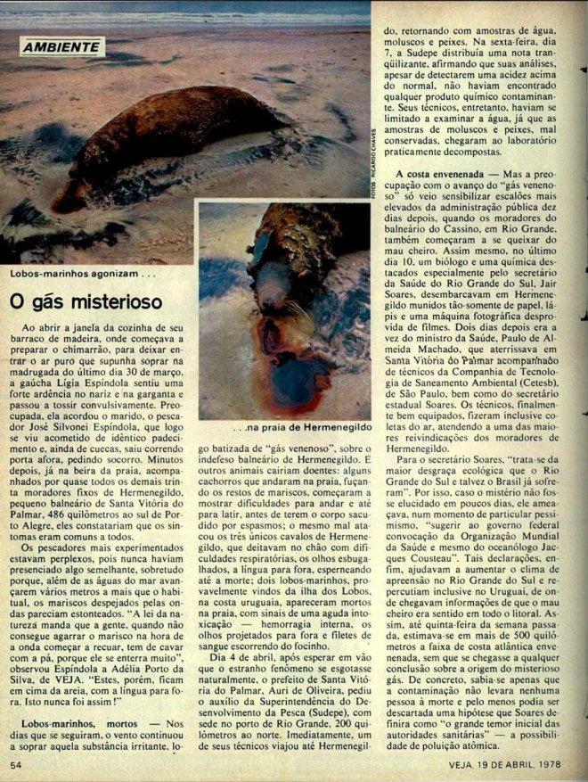 Revista Veja 19 abril 1978 - Fotos de Ricardo Chaves