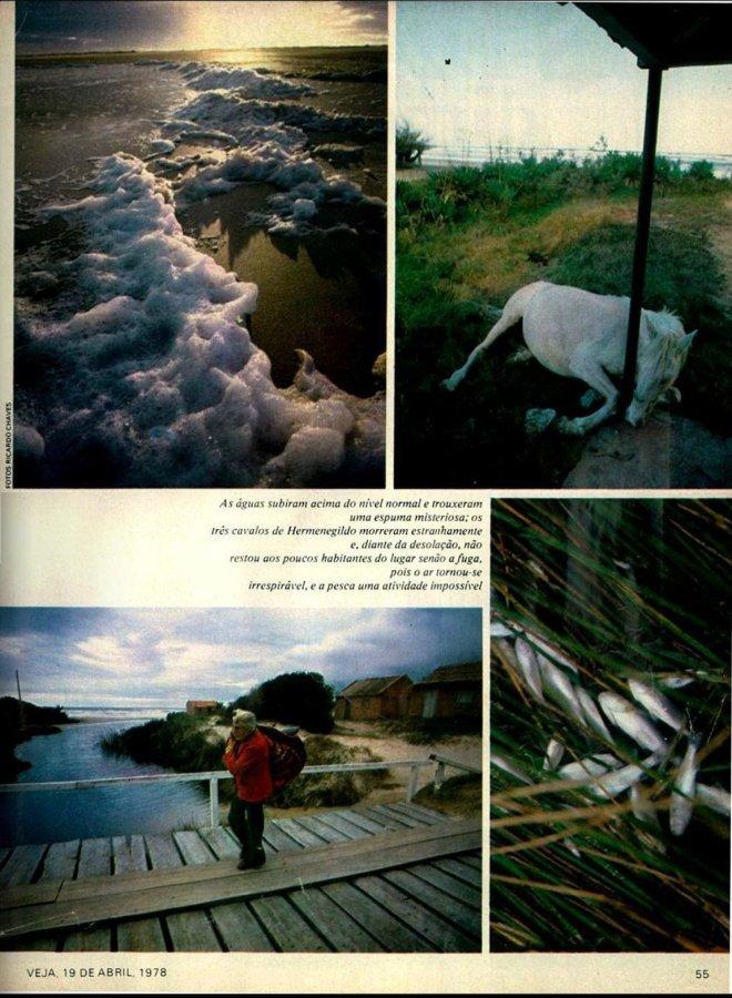 Revista Veja - 19 abril 1978 - Fotos de Ricardo Chaves