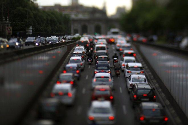 Assim como em Porto Alegre, cosgestionamentos são comuns em Madrid - Samuel Sánchez/jornal El País